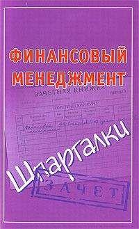 Павел Смирнов - Финансовый менеджмент. Шпаргалки