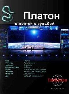 Алексей Секунов - Платон. Книга первая. В прятки с судьбой