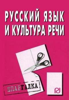 Коллектив авторов - Русский язык и культура речи: Шпаргалка