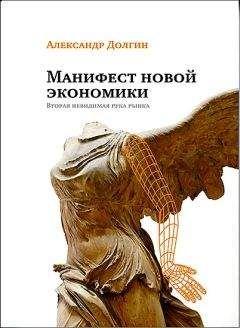 Александр Долгин - Манифест новой экономики. Вторая невидимая рука рынка