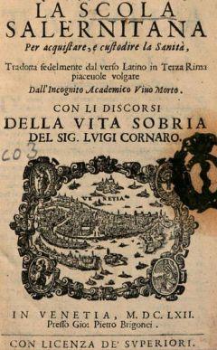 Корнаро Луиджи - Как Жить 100 Лет, или Беседы о Трезвой Жизни Рассказ о себе самом Луиджи Корнаро (1464-1566 гг.)