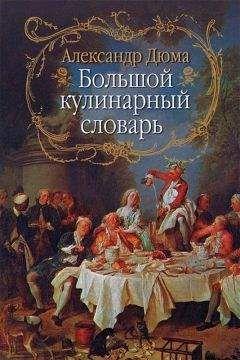 Александр Дюма - Большой кулинарный словарь