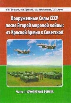 Виталий Феськов - Вооруженные Силы СССР после Второй Мировой войны: от Красной армии к Советской