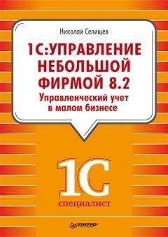 Николай Селищев - «1С. Управление небольшой фирмой 8.2». Управленческий учет в малом бизнесе