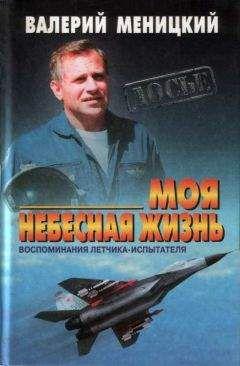 Валерий Меницкий - Моя небесная жизнь: Воспоминания летчика-испытателя